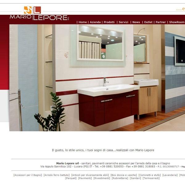 mediaweb mariolepore.it - mediaweb - agenzia pubblicitaria e web ... - Arredo Bagno Lucera